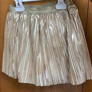 Gold Skirt for little girl size 4/5